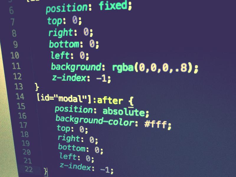 Modal CSS Code